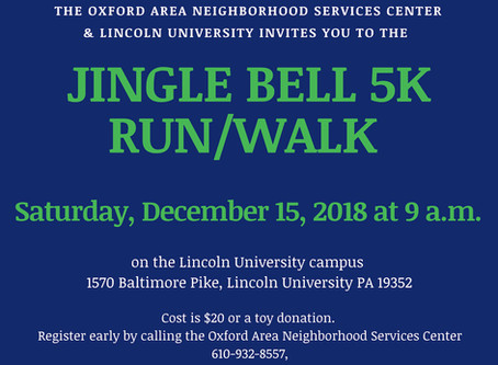 2018 Jingle Bell 5K Run CANCELLED