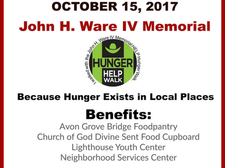 Save the Date: 2017 Hunger Walk