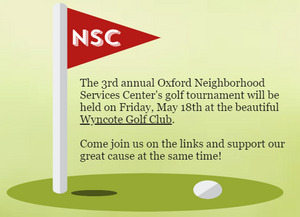 Oxford NSC 2018 Golf Tournament