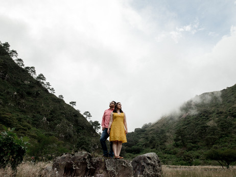 Miroslaba & Salvador - Sesión Casual - Volcán del Ceboruco