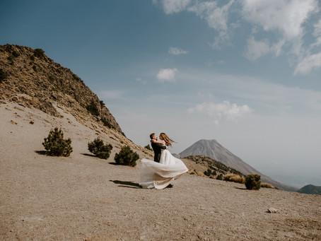 Irina & Jonatan - Nevado de Colima - Trash The Dress