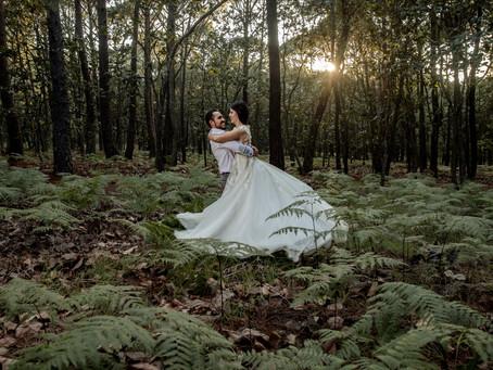 Isa & Fer - Trash The Dress - Sierra de Quila