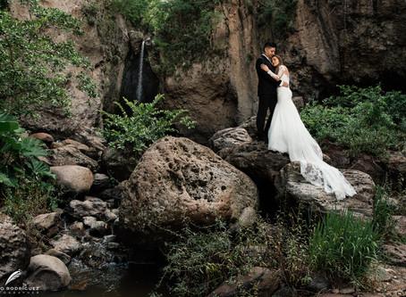 Elisa & Christian - Trash The Dress - Cascadas de Huaxtla