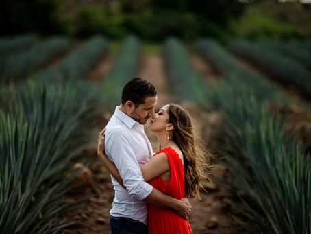 Irina & Jonathan - Sesión Casual - Tequila Jalisco