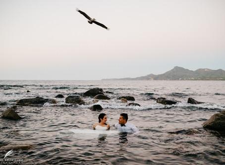 Ana Laura & Moises - Trash The Dress - Punta Negra
