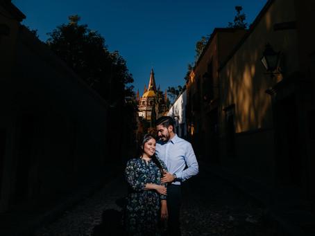 Geo & Lalo - Sesión Casual - San Miguel de Allende