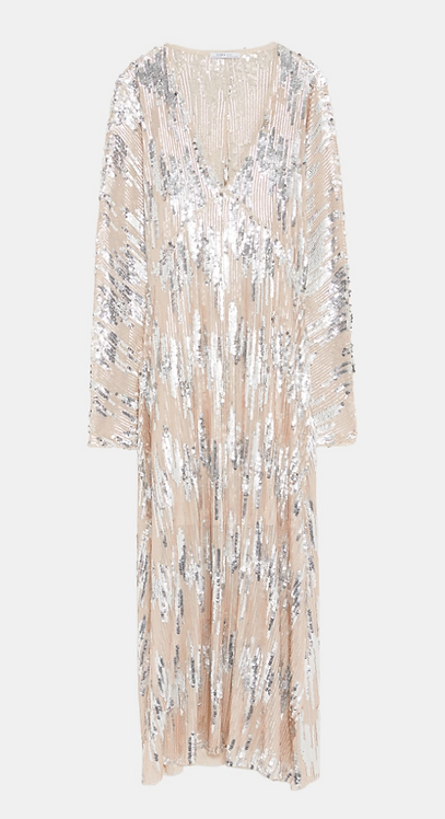 ZARA - Sequin Gown                                          UK L
