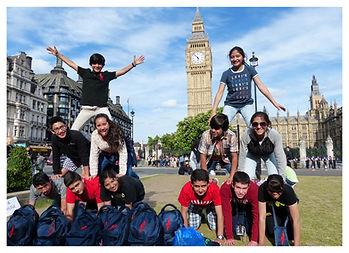 Educational Tour outside Big Ben