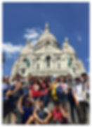 Learn Away Tour Outside the Sacre Coeur