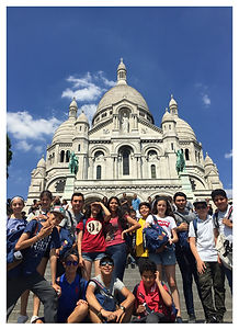 Learn Away Tour Outside the Sacre Coeur