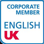 English UK corporate member logo