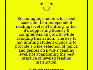 Don't Fall for the Hype! Reading Levels Matter
