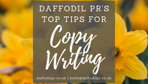 Daffodil PR's Top Tips for Copy Writing