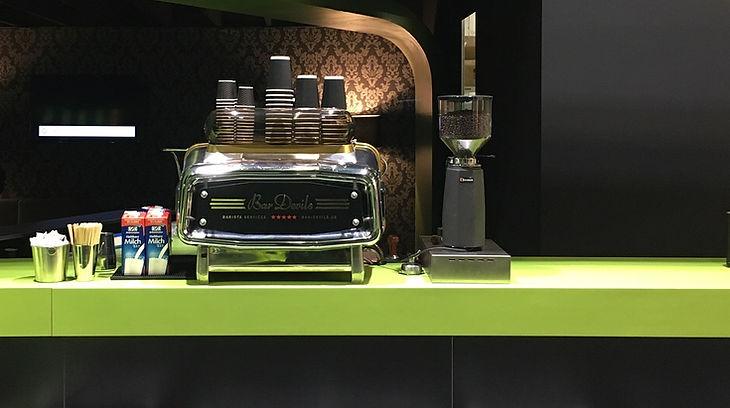 Kaffee am Messestand Event Messe