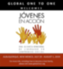 Jovenes en Accion welcome image 600x650.