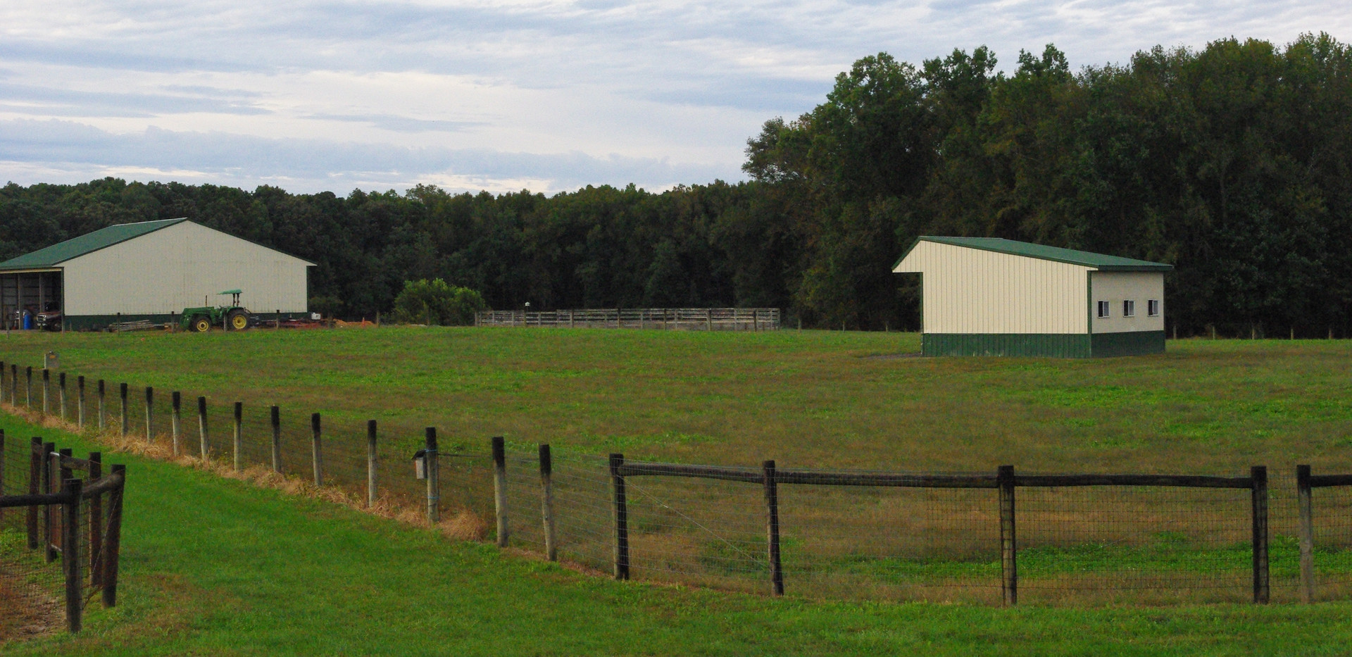 Field with Shed