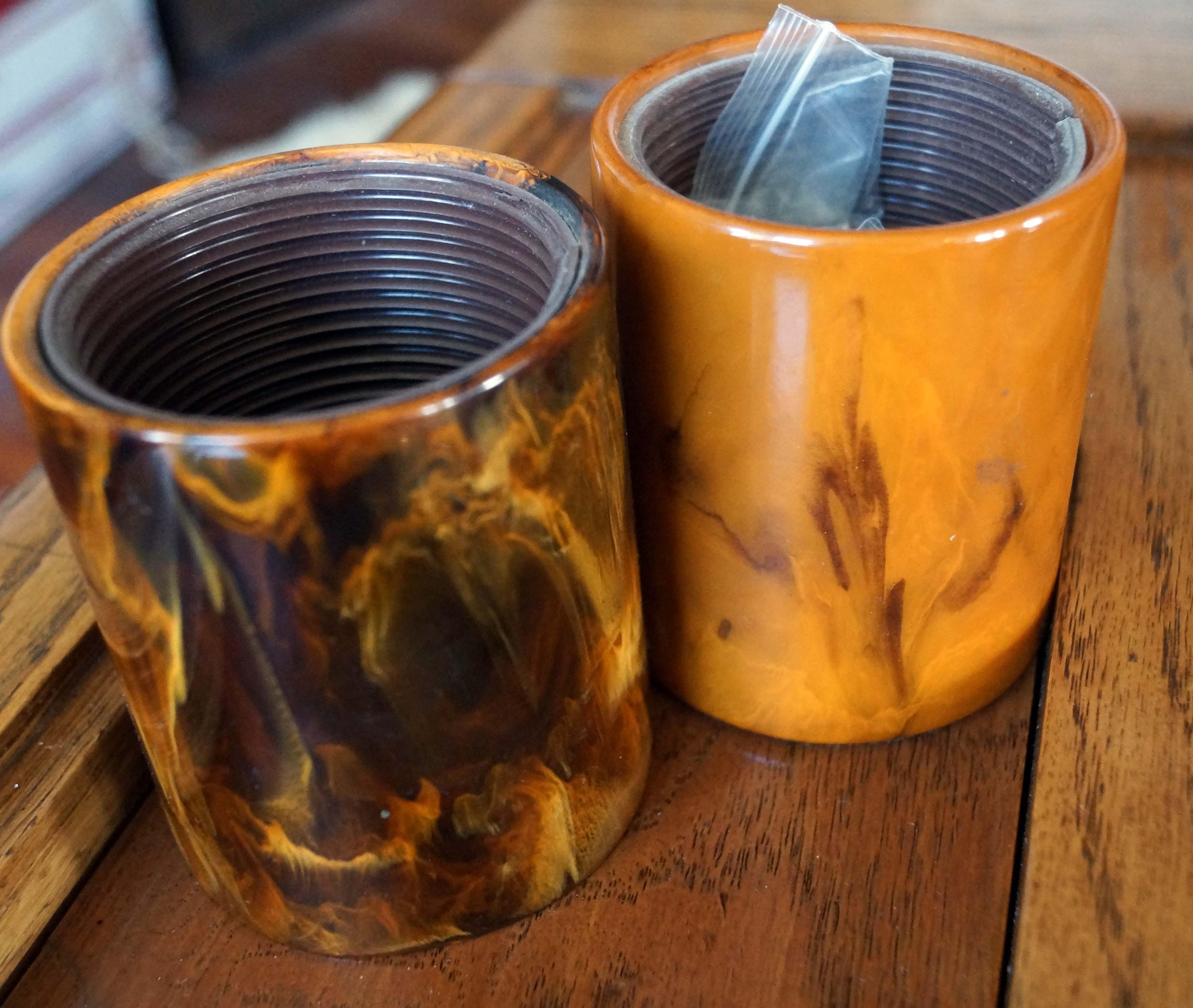 rare bakelite cups