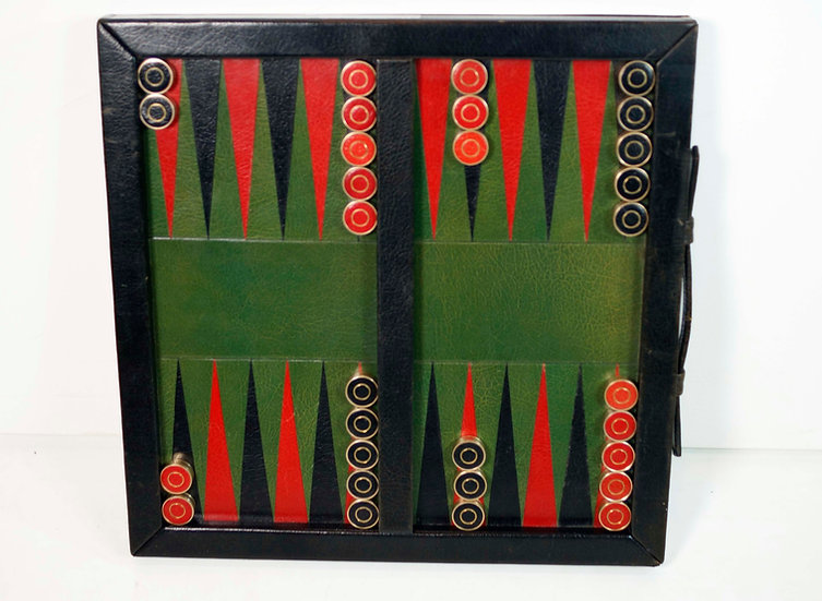 Lord and Taylor made by Geoffrey Parker Reversible Checkers/Backgammon