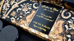 Custom engraving for couple