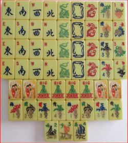 Stickers on original tiles