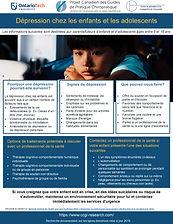 Depression in children and adolescents p