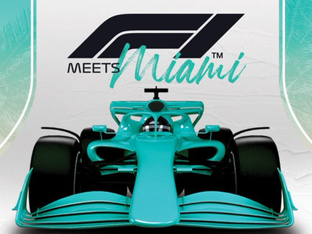F1 Taking Its Talents To South Beach With Miami Grand Prix