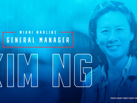 Kim Ng Hired As Miami Marlins' GM, First Woman To Hold Title In Major League Men's Sports