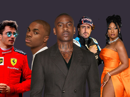 Matching Formula 1 Drivers To Their Rapper Counterparts