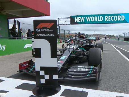 Lewis Hamilton Breaks Michael Schumacher's F1 Record With 92 Race Victories