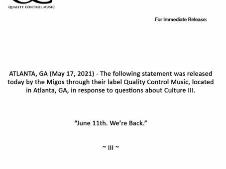 """Migos Announces """"Culture III"""" a la Michael Jordan"""