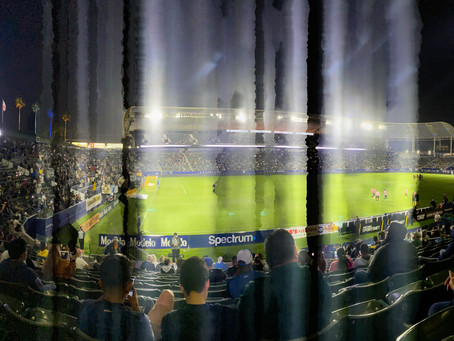 Written In The Stars: How Attending My First L.A. Galaxy Game Made Me A Fan