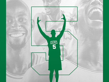 Kevin Garnett To Have Jersey Retired By Boston Celtics