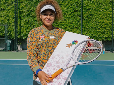 Naomi Osaka Just Revealed Her Takashi Murakami Racket, Let's Look Back At Her Other Dope Collabs