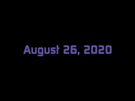 August 26, 2020