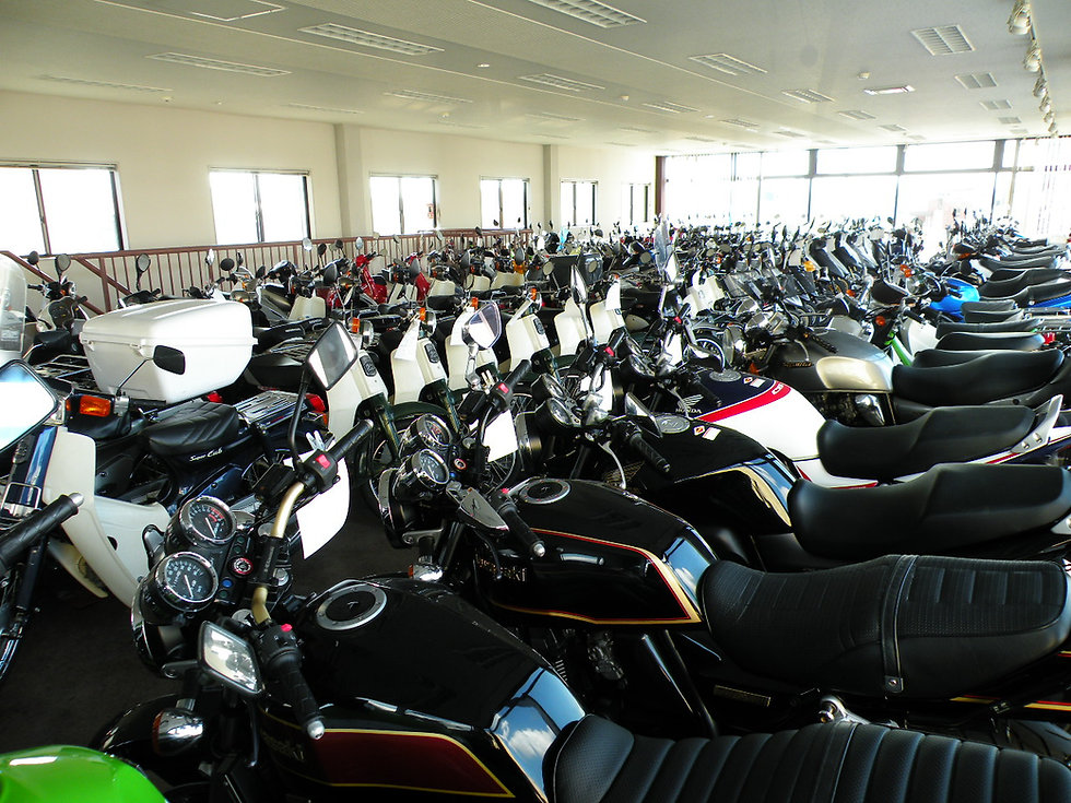 バイク展示
