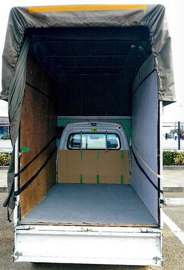 不用品回収トラック