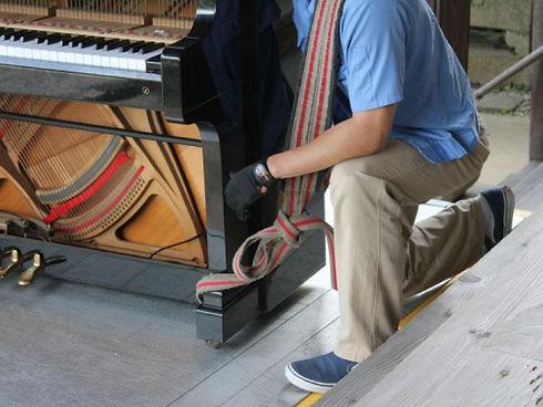 ピアノ運送