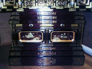 塗り替えた仏壇