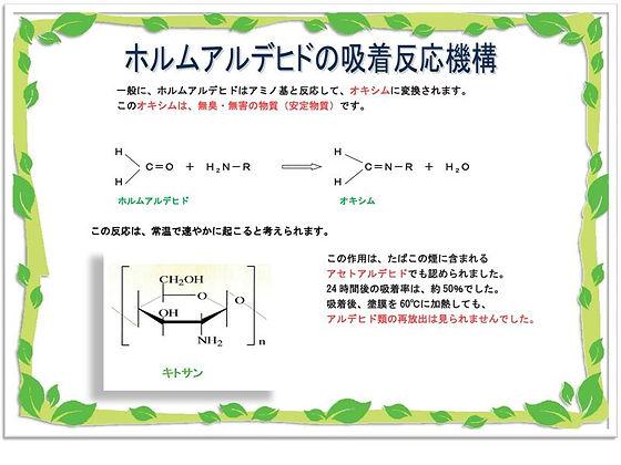 ホルムアルデヒドの吸着反応機構