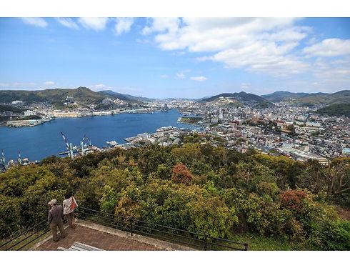 長崎県西彼杵半島の北部の風景