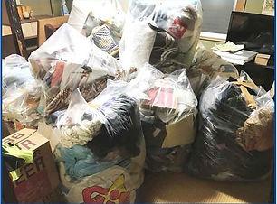 大量のゴミ