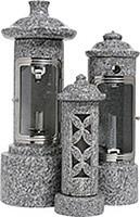 石製ロウソク立 各種