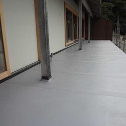 金属防水屋根