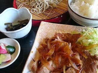 生姜焼きセット