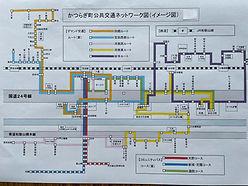 交通ネットワーク図