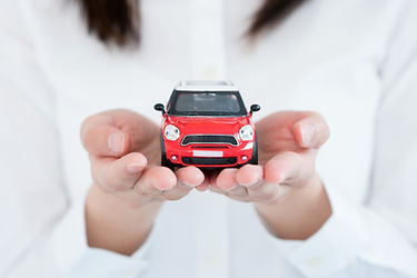 車模型と手