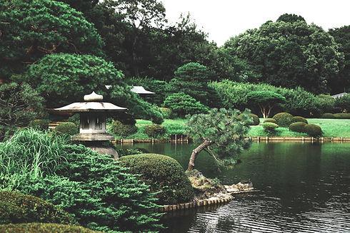 趣きある日本庭園