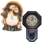 信楽焼・時計