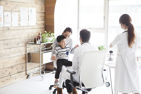 親子と医者