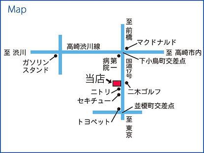 株式会社ベレーナ地図